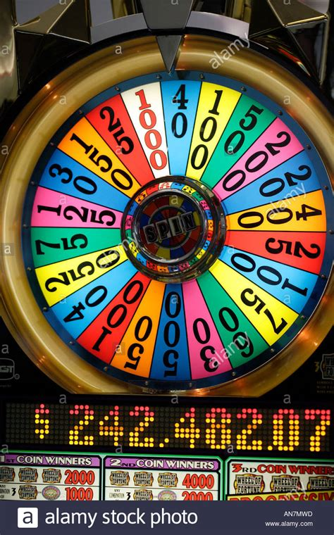 fortune wheel slot casino machines vegas las slots coin operated play games gsn classic huge alamy many highrollers bets quests