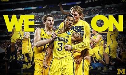 Michigan Wolverines Basketball Trey Wallpapers College Burke