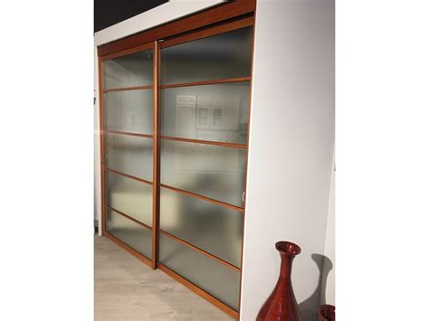 porte scorrevoli cabina armadio cabina armadio con porte scorrevoli ciliegio e acidato