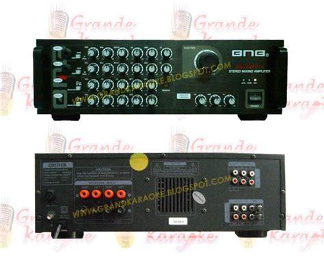 mesin karaoke home karaoke system dvd amplifier speaker bmb