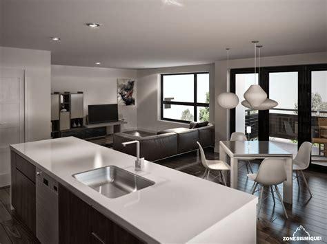 salon cuisine design salon design dans un appartement meilleures images d 39 inspiration pour votre design de maison