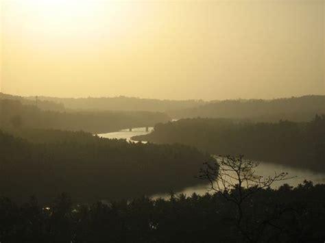 beautiful landscape  nature river  slow flow