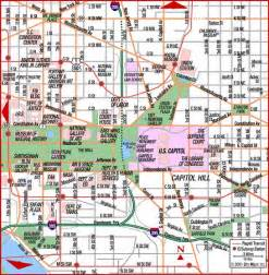Capitol Hill Washington DC Map