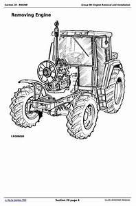 John Deere Tractors 6800 And 6900 Service Repair Technical