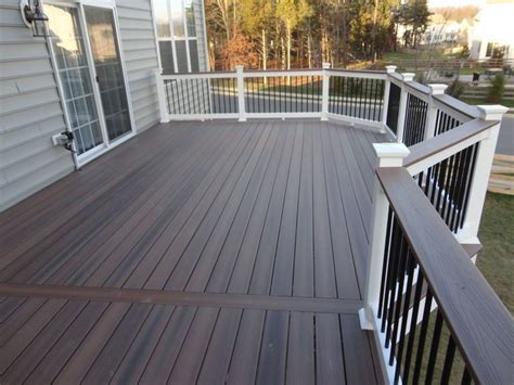 brown deck stain  grey house google search garden
