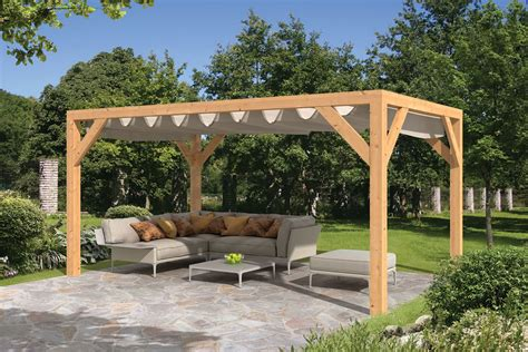 Framed Pool Canopy Cover by Garden Sliding Shade Awning