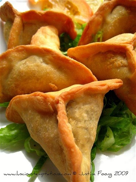 sambousek deep fried arab meat pie vegetable dishes