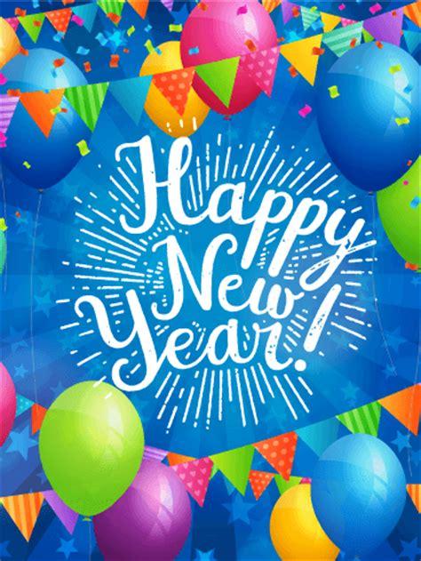 lets  fun happy  year card birthday greeting cards  davia