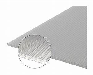 Plaque Polycarbonate Alvéolaire Brico Depot : plaque polycarbonate alv olaire 16mm coloris clair ~ Nature-et-papiers.com Idées de Décoration