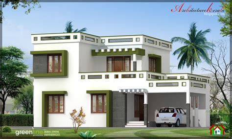 style home architecture kerala 3 bhk modern style kerala home