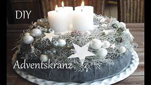 Deko In Weiß : diy adventskranz in wei just deko youtube ~ Yasmunasinghe.com Haus und Dekorationen
