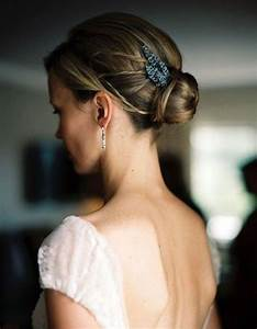 Chignon Cheveux Mi Long : chignon de mariage cheveux mi longs je veux un joli ~ Melissatoandfro.com Idées de Décoration