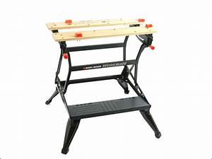 Folding Workmate Sawhorse Table Workbench Surface Clamping