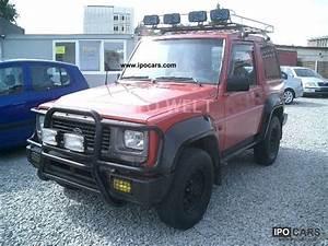 1994 Daihatsu Rocky Photos  Informations  Articles