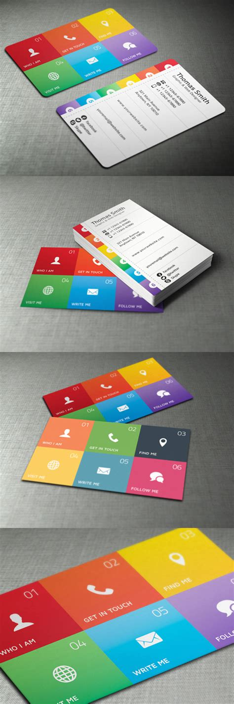 cool graphic design business cards modern and unique business cards design design graphic