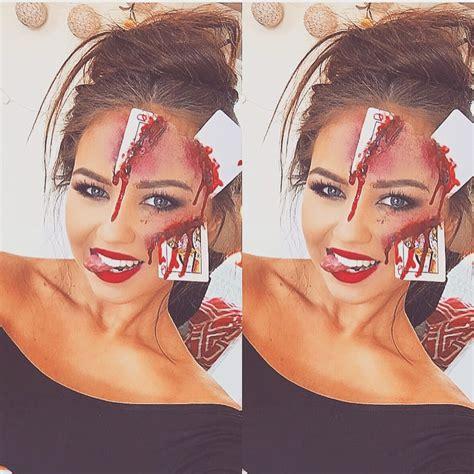 sfx makeup cards halloween ideas