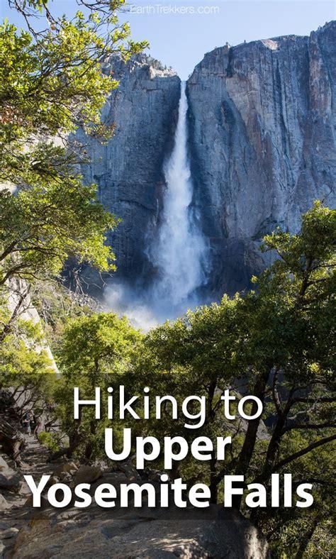 Hiking Upper Yosemite Falls Point Earth