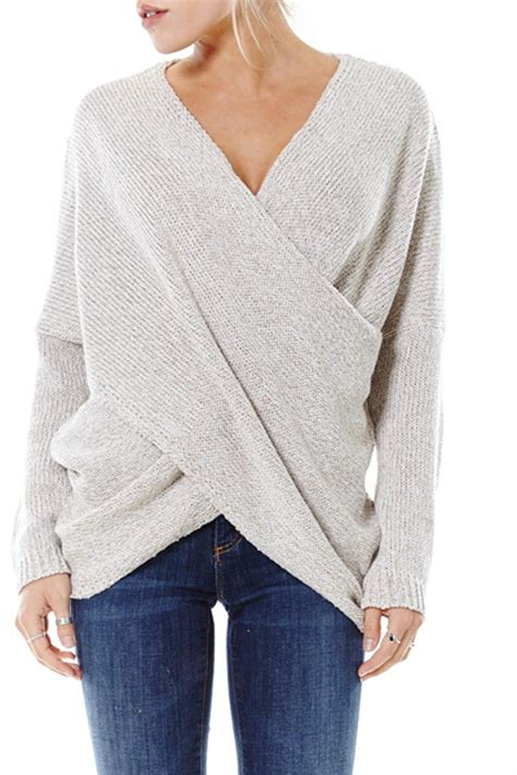 draped sweater aeon draped knit sweater from orange county by oc avenue