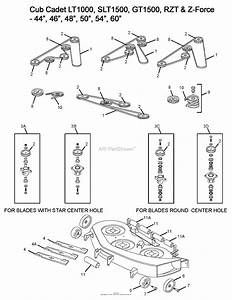 Wiring Site Resource  Cub Cadet Z Force 50 Drive Belt Diagram