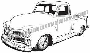 19 best automotive clip art images on pinterest car for 1950 ford truck 4x4