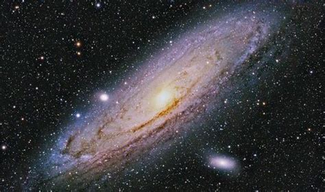 End The World Milky Way Eaten Andromeda