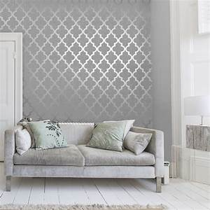 Henderson Interiors **Sample** Camden Trellis Wallpaper ...