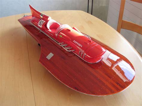 This hydrophane speedboat model is. Model ship - Riva Ferrari 76 cm Luxury hydroplane model ...