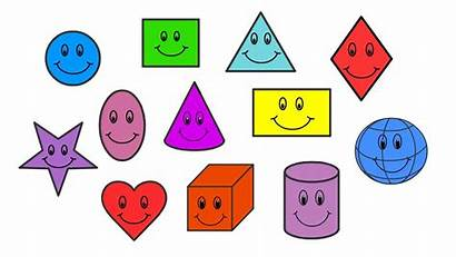Shapes English Basic Shape Children Names Learn