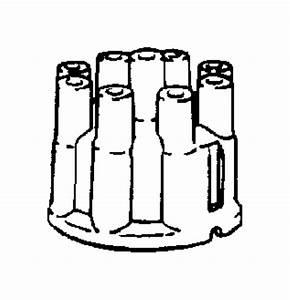 Dodge W150 Distributor Cap  Liter  Cylinder  Models
