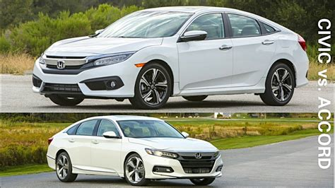 Honda Civic 2018 Vs Honda Accord 2019