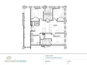 open living floor plans floor plans