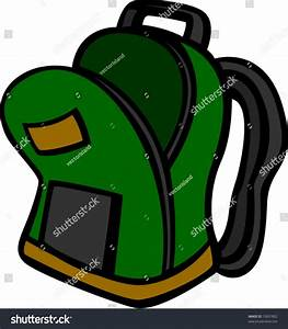 Open Backpack Stock Vector 15837802 - Shutterstock