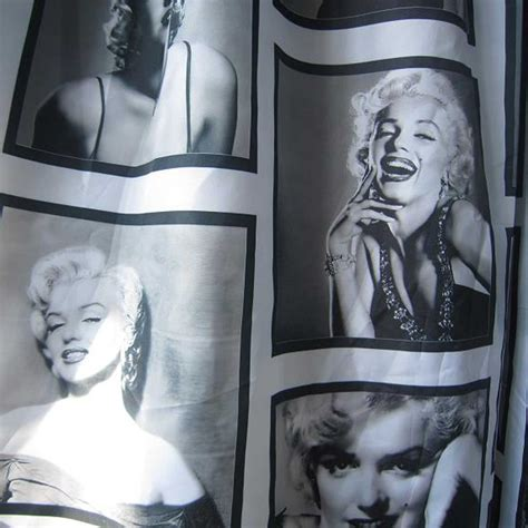 marilyn bathroom set marilyn waterproof fabric shower curtain