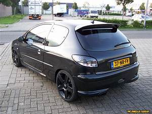 Peugeot 206 Black RC Turbo