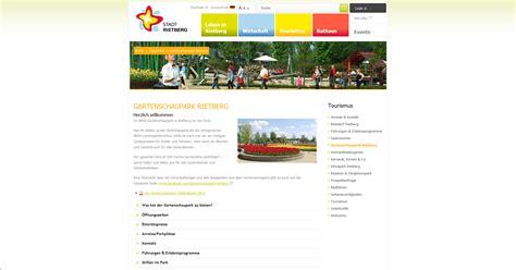 Park Der Gärten Jahreskarte by Park Kooperationen Park Der G 228 Rten