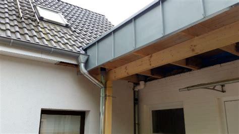 Dachüberstand Verkleiden Zink vorhangfassade beuck pietzsch