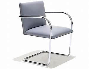 Mies Van Der Rohe Chair : brno chair with tubular steel frame ~ Watch28wear.com Haus und Dekorationen