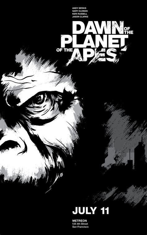 dawn   planet   apes  behance