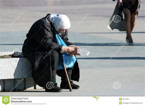 poor  woman stock photo image