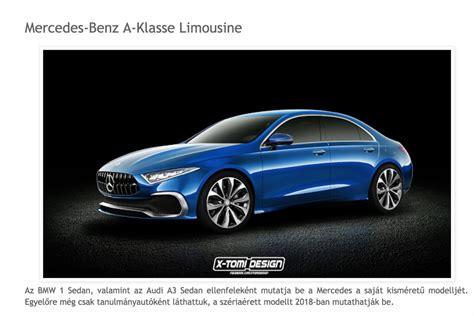 siege auto class quel style pour la future mercedes classe a berline 2018