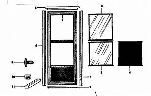 Looking For Sears Model 84823131 Storm  U0026 Screen Doors