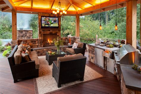 outdoor cooking station ideas outdoor kitchen covered deck backyard covered patio with fireplace upgrade your backyard with