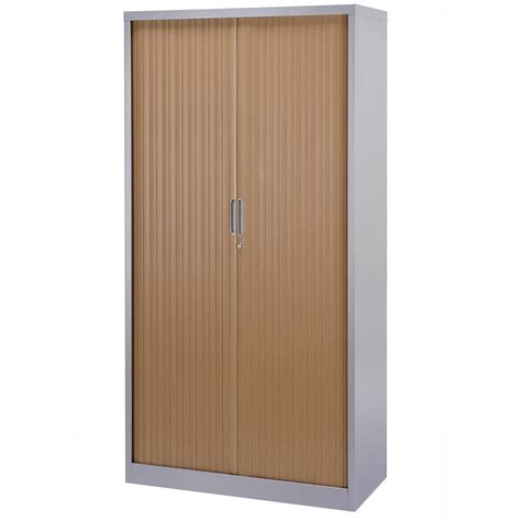 Bisley Tambour Cupboard by Bisley Contract Tambour Cupboard Large