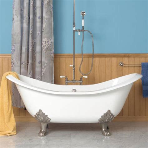 Shower For Clawfoot Tub by Bathtubs And Showers Clawfoot Tubs With Wood Wall