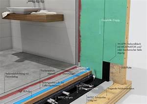 Osb Platten Abdichten : professionelle badezimmer abdichtung la wolfin ~ Lizthompson.info Haus und Dekorationen