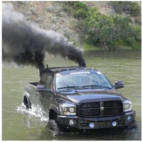 cummins charger rollin coal www dieseltruckgallery com black dodge ram cummins diesel