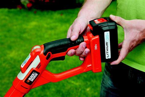 coupe bordure sans fil black and decker glc3630l20 d 233 broussaillez