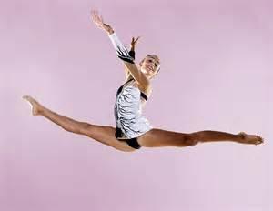 Gymnastic Leotard Splits