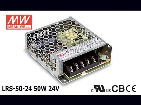 Original Taiwan Mean Well Switching Power Supply LRS-50-24 ...
