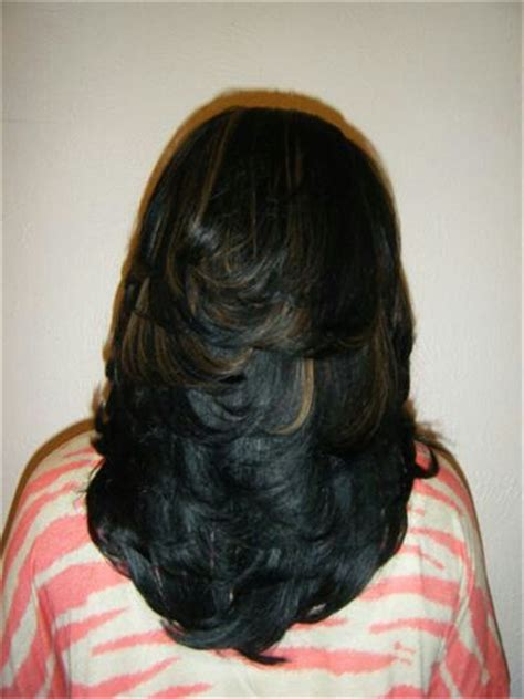 Layered Sew In Weave Hairstyles by 25 Best Ideas About Layered Weave On